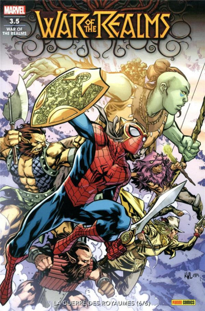 Couverture War of the realms tome 3.5