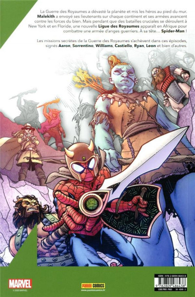 Dos War of the realms tome 3.5