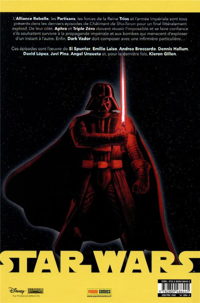 Dos Star wars (2020) tome 3
