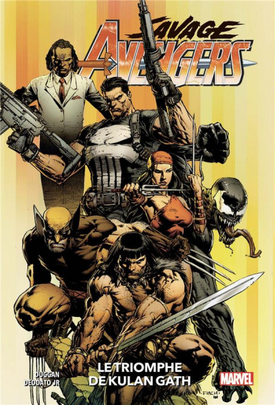 Couverture Savage avengers tome 1
