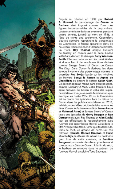Page 3 Savage avengers tome 1