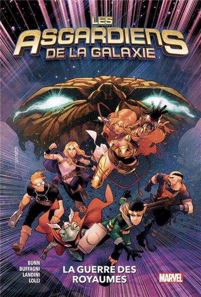 Couverture Les asgardiens de la galaxie tome 2