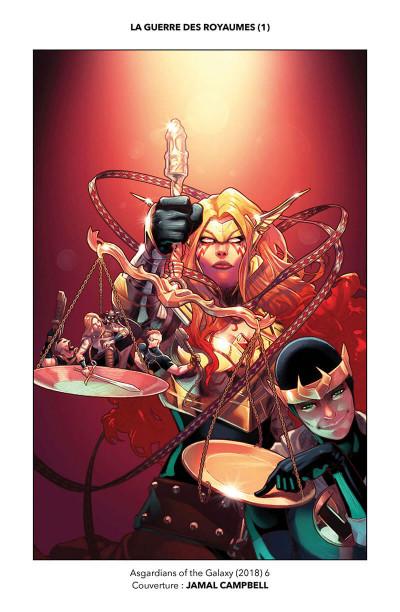 Page 5 Les asgardiens de la galaxie tome 2