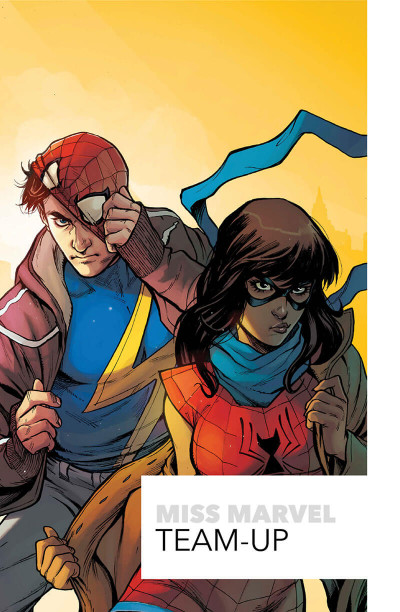 Page 1 Ms. Marvel - Team-up