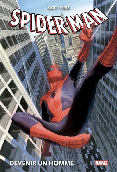 Couverture Spider-man - Devenir un homme