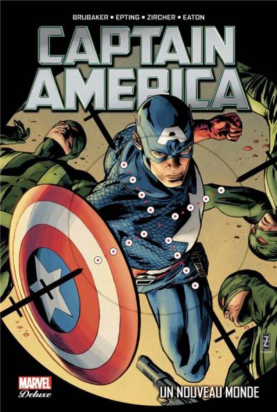 Couverture Captain America tome 2