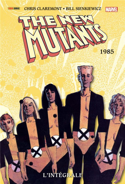 Couverture The new mutants - intégrale tome 3