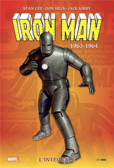 Couverture Iron-man - intégrale tome 1
