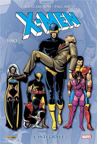 Couverture X-men - intégrale tome 7