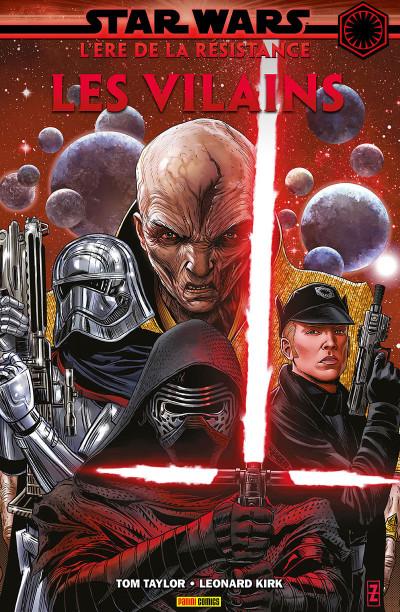 Couverture Star wars - l'ère de la résistance - Les vilains