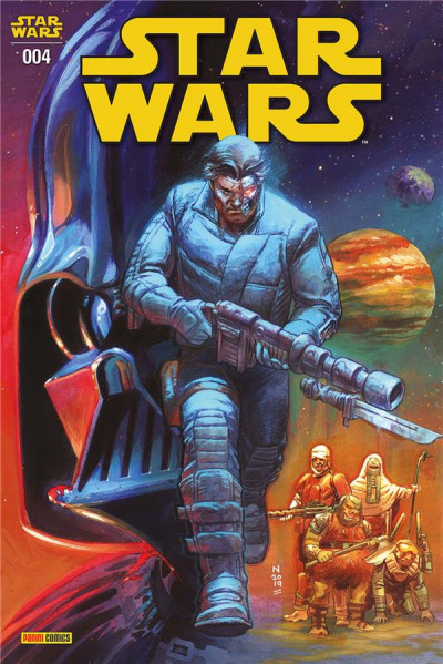 Couverture Star wars (2020) tome 4