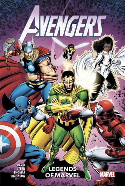 Couverture Avengers - Legends of marvel