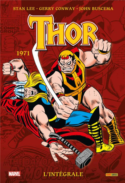 Couverture Thor - intégrale tome 13