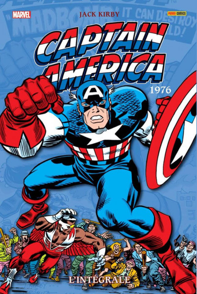 Couverture Captain America - intégrale tome 10