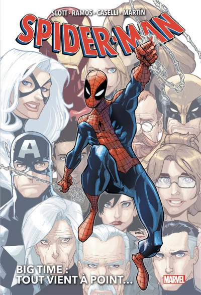 Couverture Spider-man big time tome 1