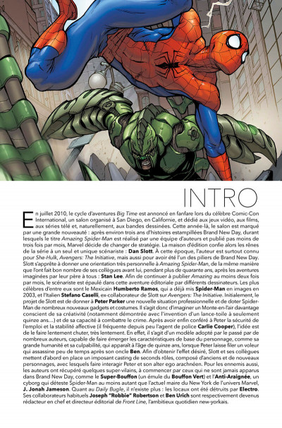 Page 4 Spider-man big time tome 1