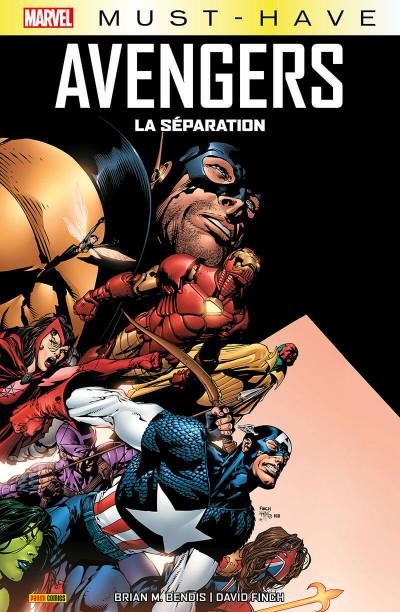 Couverture Avengers - La séparation (must-have)