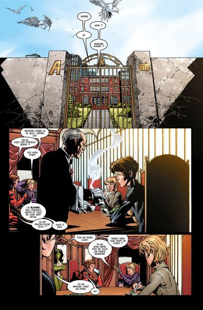 Page 6 Avengers - La séparation (must-have)