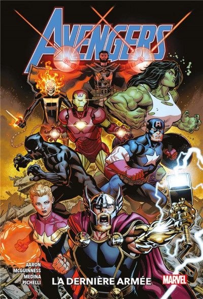 Couverture Avengers (fresh start) tome 1