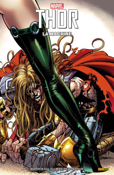 Couverture Thor - la machine