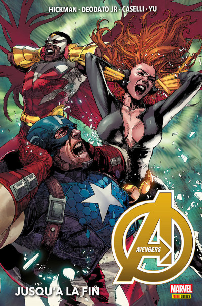 Couverture Avengers (marvel deluxe) tome 2