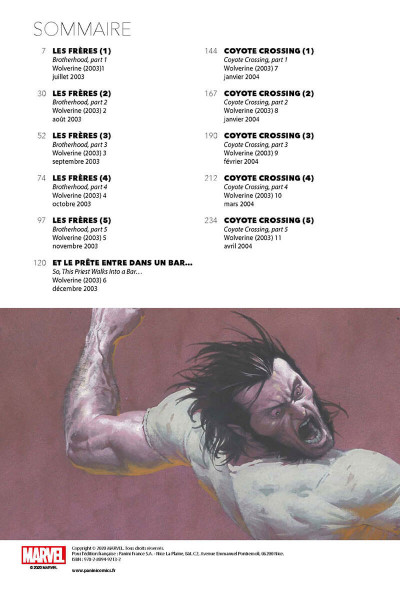 Page 2 Wolverine tome 1