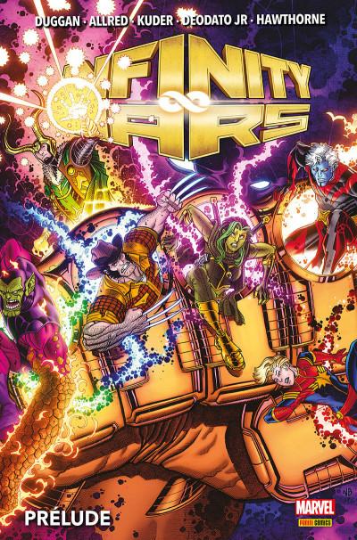 Couverture Infinity wars - prélude