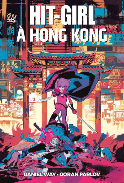Couverture Hit girl à Hong Kong