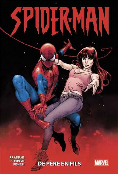 Couverture Spider-man - De père en fils