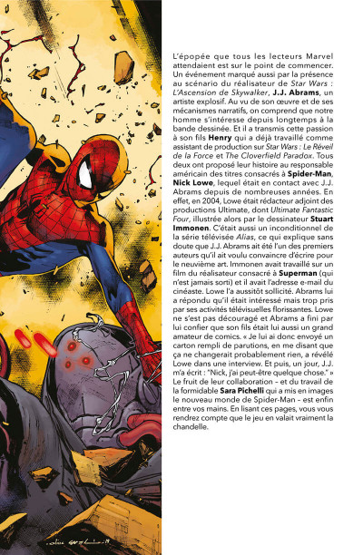Page 3 Spider-man - De père en fils