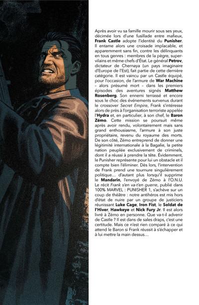 Page 3 Punisher tome 2 - Guerre en Bagalie