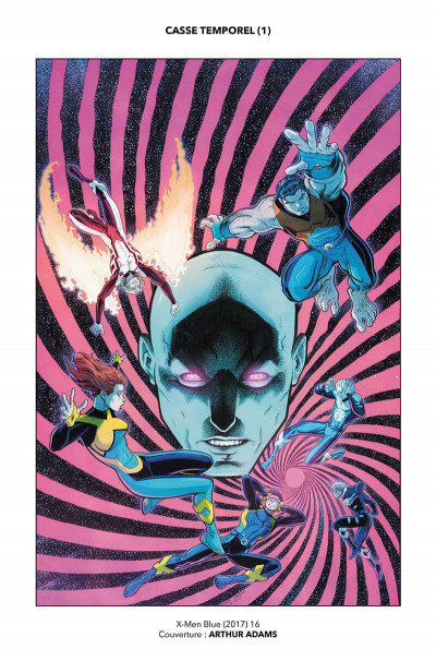 Page 5 X-Men blue tome 2