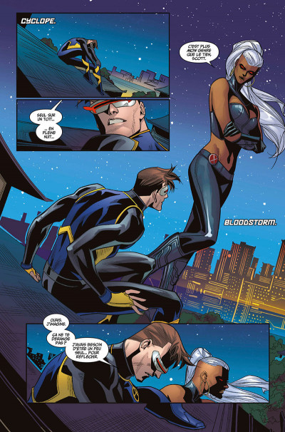 Page 8 X-Men blue tome 2