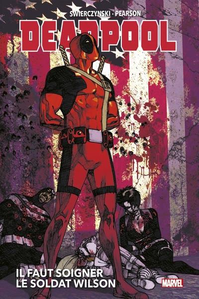 Couverture Deadpool - Il faut soigner le soldat Wilson (marvel deluxe)