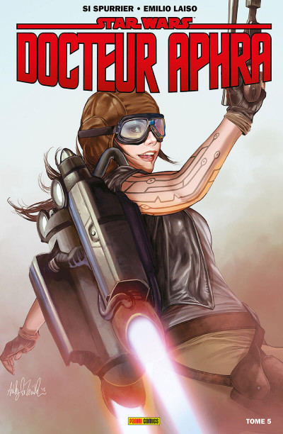 Couverture Star Wars - Doteur Aphra tome 5
