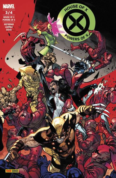 Couverture House of X / powers of X tome 3