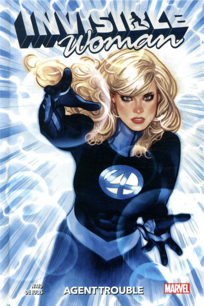 Couverture Invisible woman