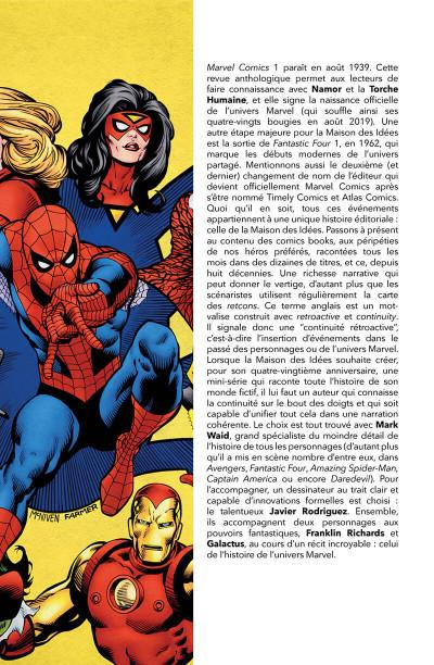 Page 3 L'histoire de l'univers Marvel