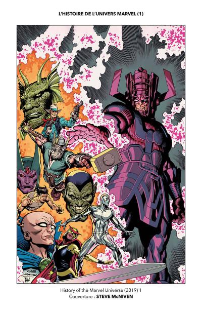 Page 4 L'histoire de l'univers Marvel