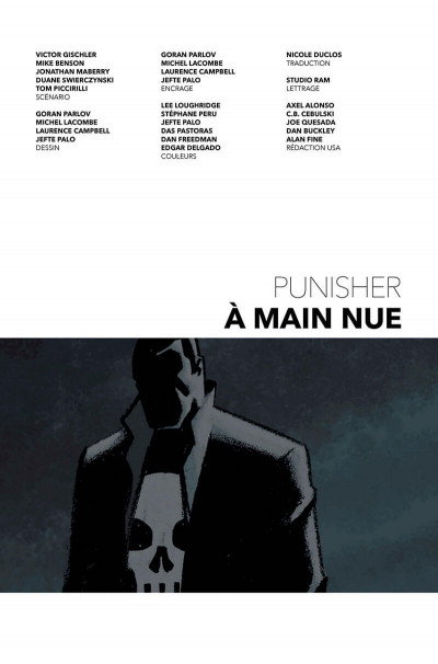 Page 3 The Punisher tome 9