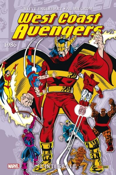 Couverture West coast Avengers - intégrale tome 2