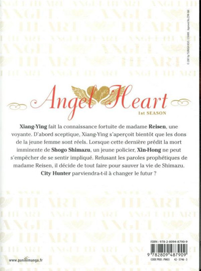 Dos Angel heart - saison 1 tome 12