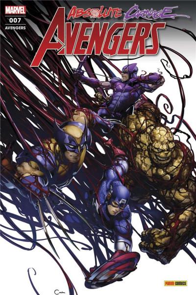 Couverture Avengers (série 2020) tome 7