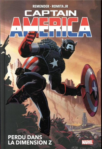 Couverture Captain America (marvel deluxe) tome 1