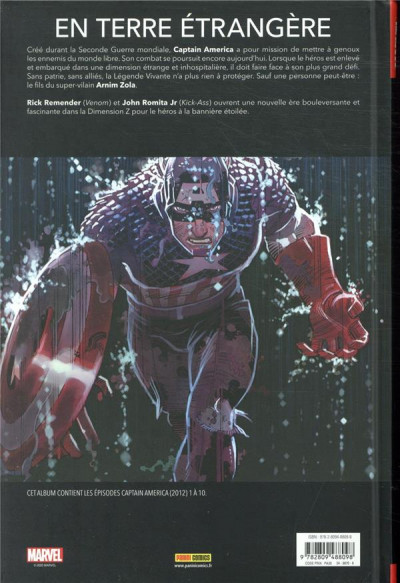 Dos Captain America (marvel deluxe) tome 1