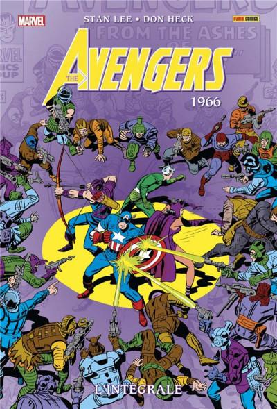 Couverture Avengers - intégrale tome 3