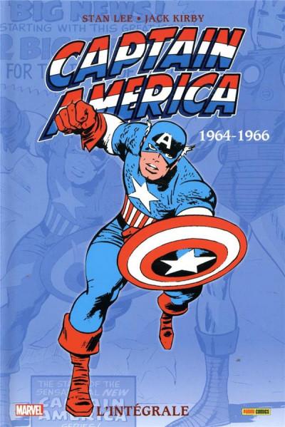 Couverture Captain America - intégrale tome 1