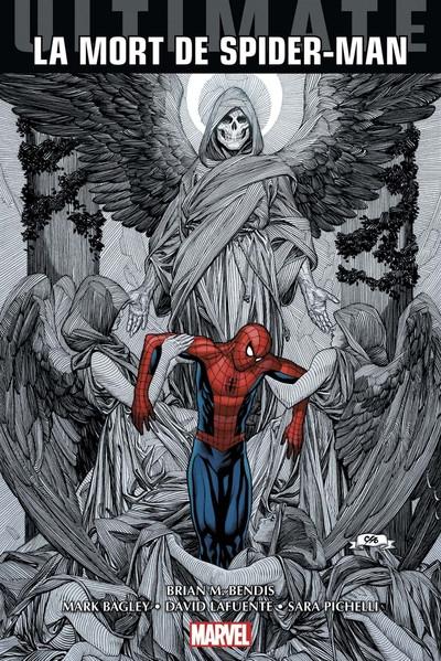 Couverture Ultimate Spider-man - La mort de spider-man