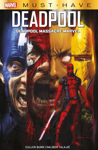 Couverture Deadpool massacre marvel (must have)