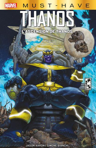 Couverture L'ascension de Thanos (must have)